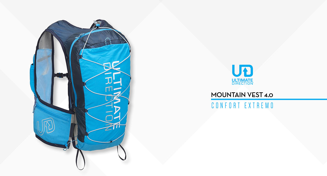 Ultimate Direction. Mountain Vest 4.0