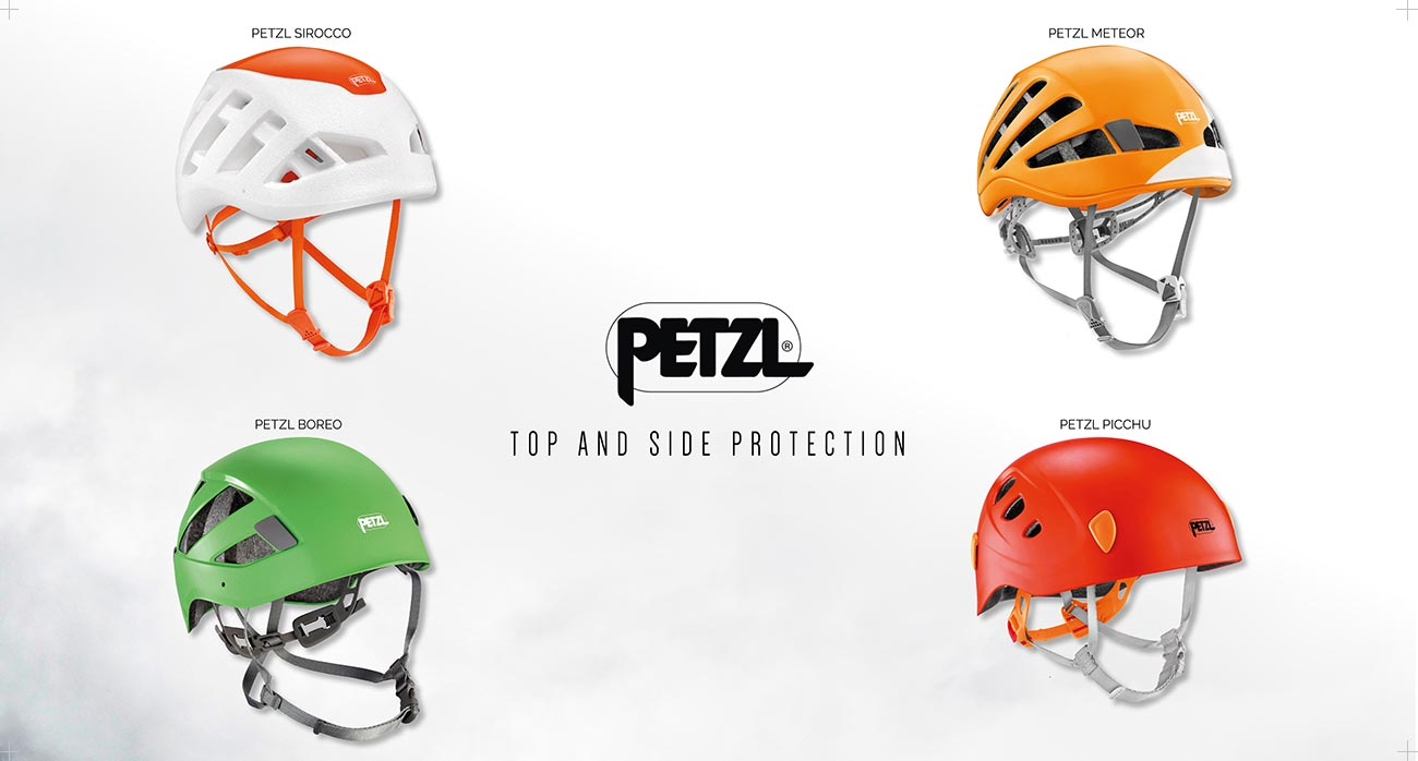 Petzl. Top and side protection. Kissthemountain