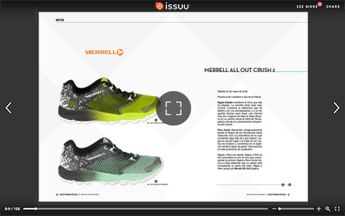 Merrell. All out crush 2