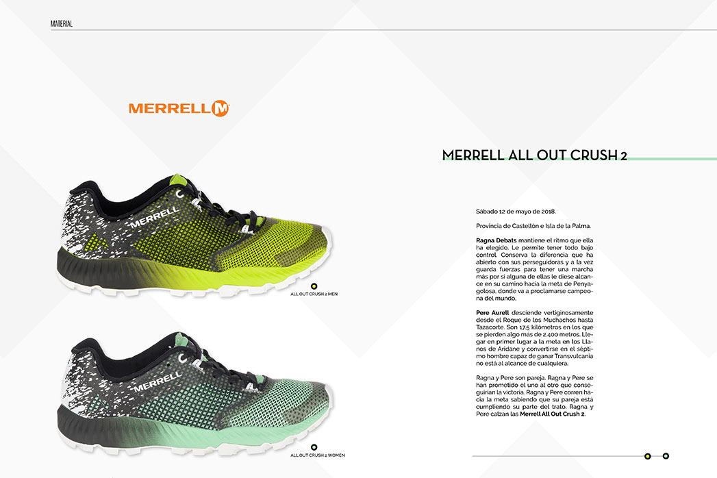 Merrell. All out crush 2. Kissthemountain