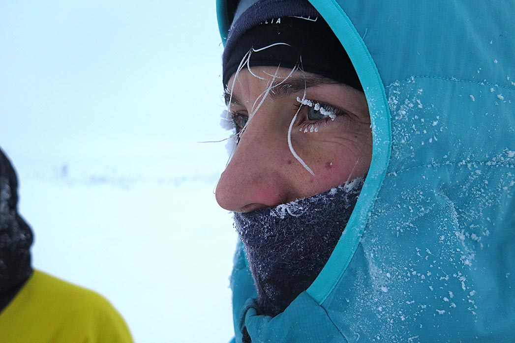 Tamara Lunger. Kiss the mountain