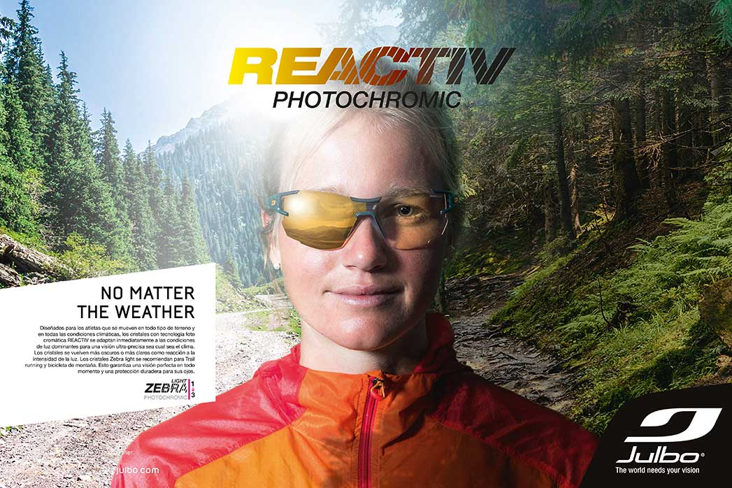 Julbo. Reactive Photochromic
