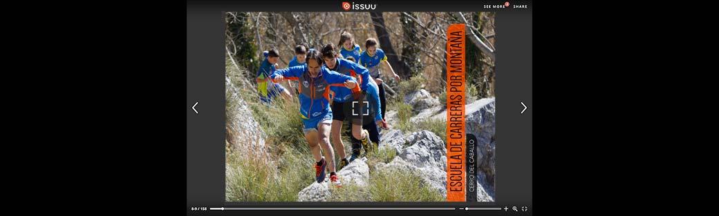 Escuela de carreras por montaña, Cerro del Caballo