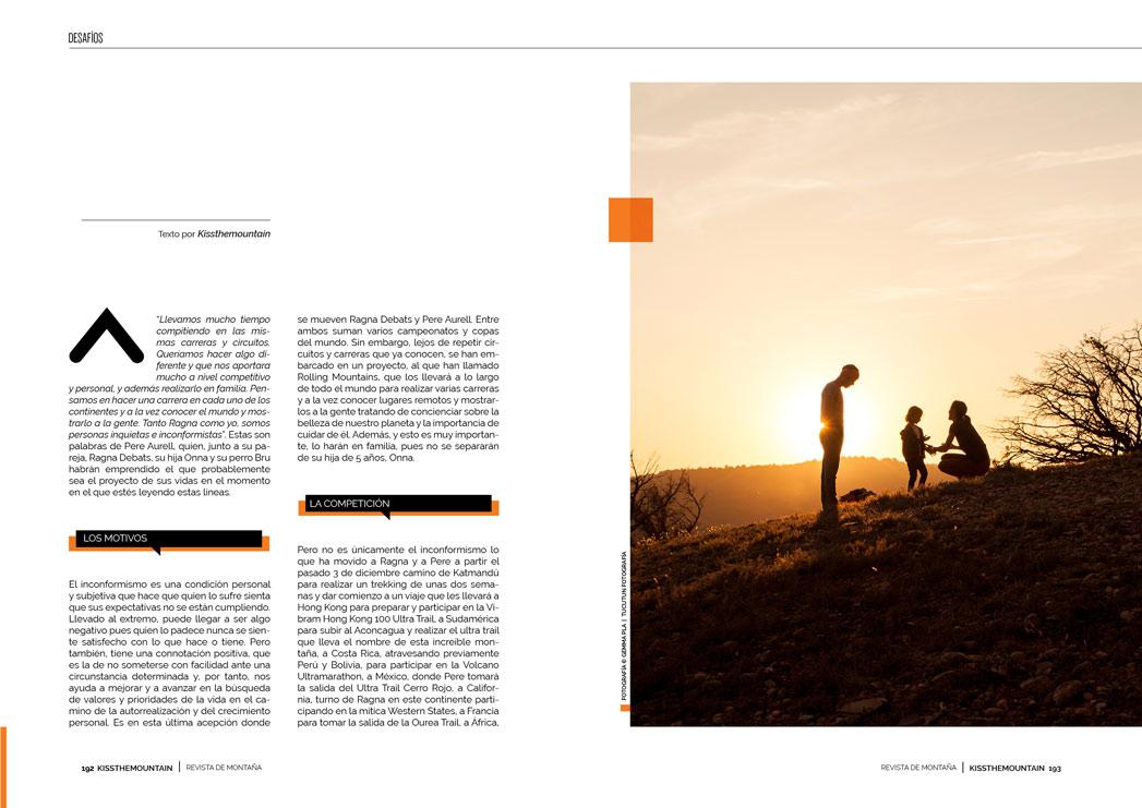Ragna Debats y Pere Aurell. Rolling Mountains 2