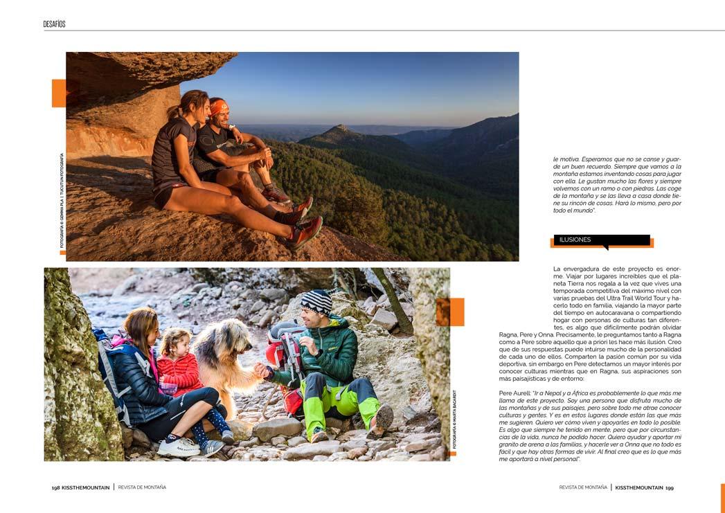 Ragna Debats y Pere Aurell. Rolling Mountains 5