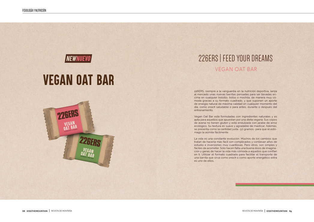 226ERS Vegan Oat Bar 2