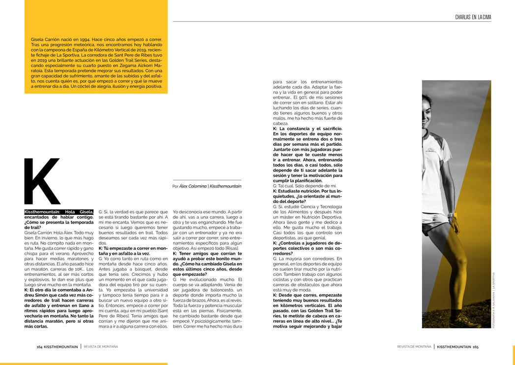 Gisela Carrión. Entrevista