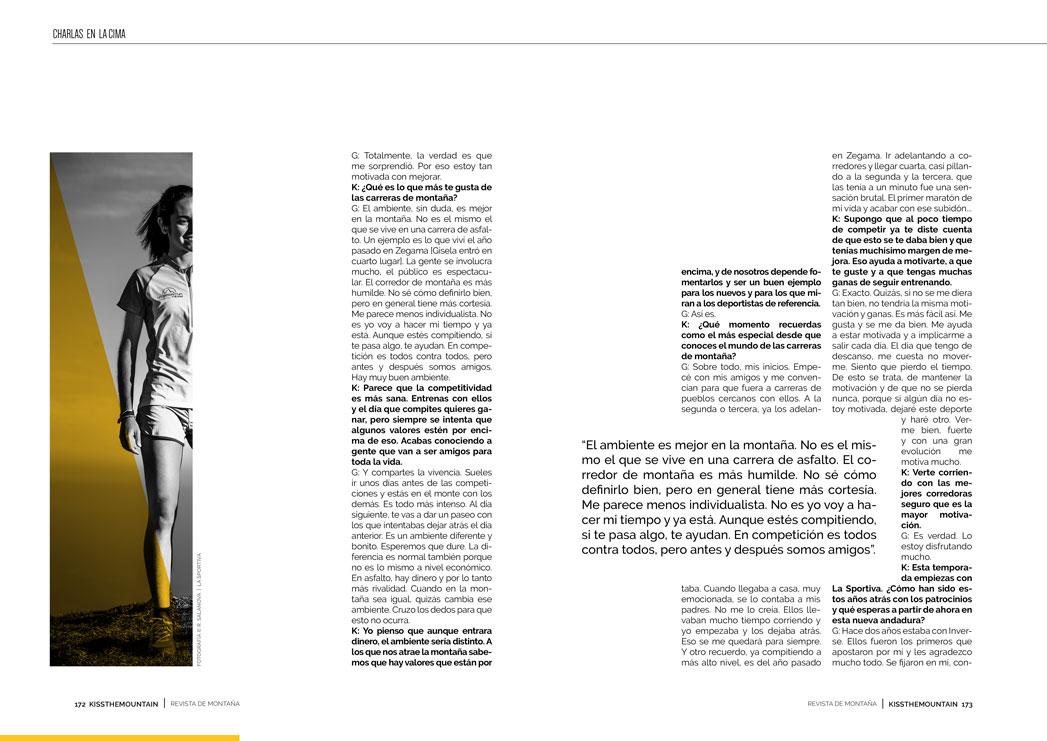 Gisela Carrión. Entrevista 4