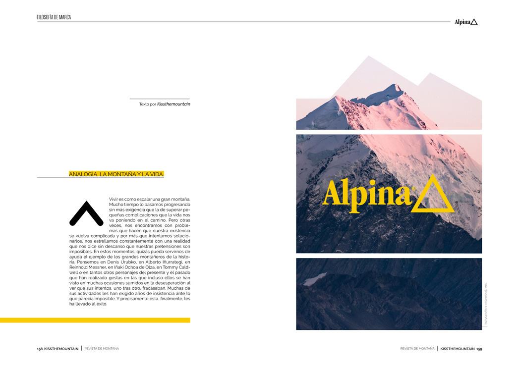 Alpine. Mochilas