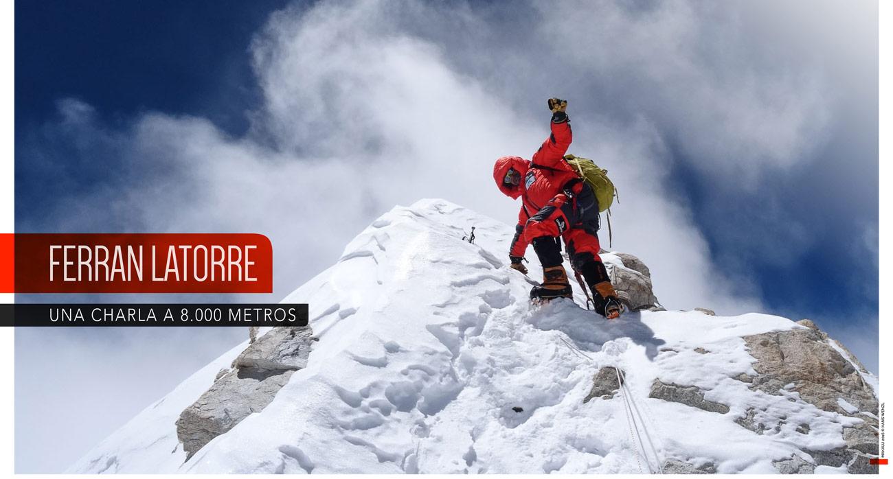 Ferran_Latorre. Una charla a 8000 metros