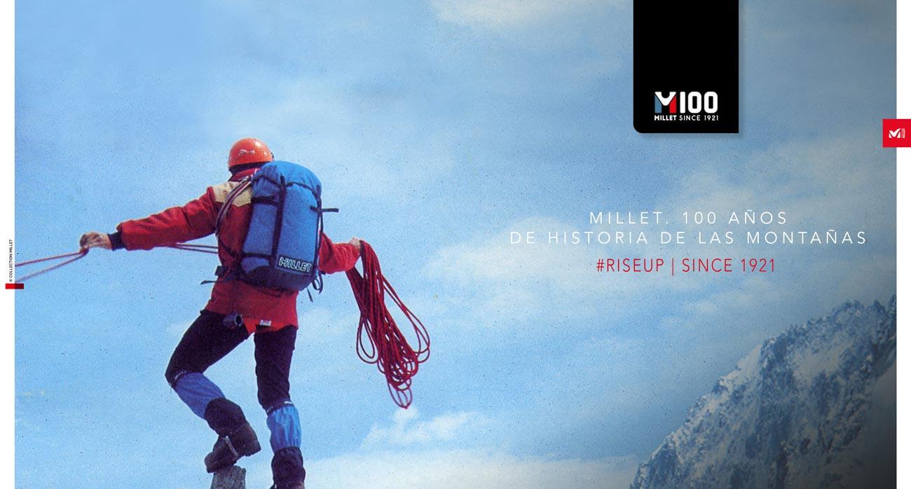 Millet. 100 años de historia de la montaña