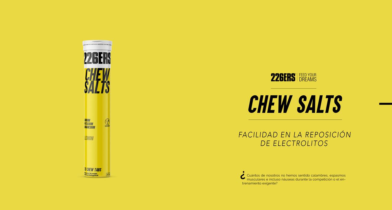 226ers Chew Salts. Sales minerales