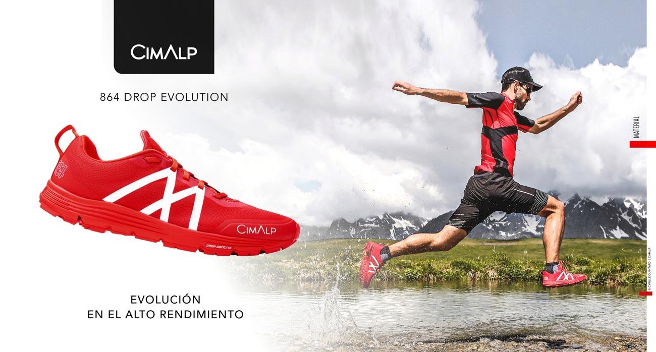 Zapatillas trail running Cimalp_864 Drop Evolution.