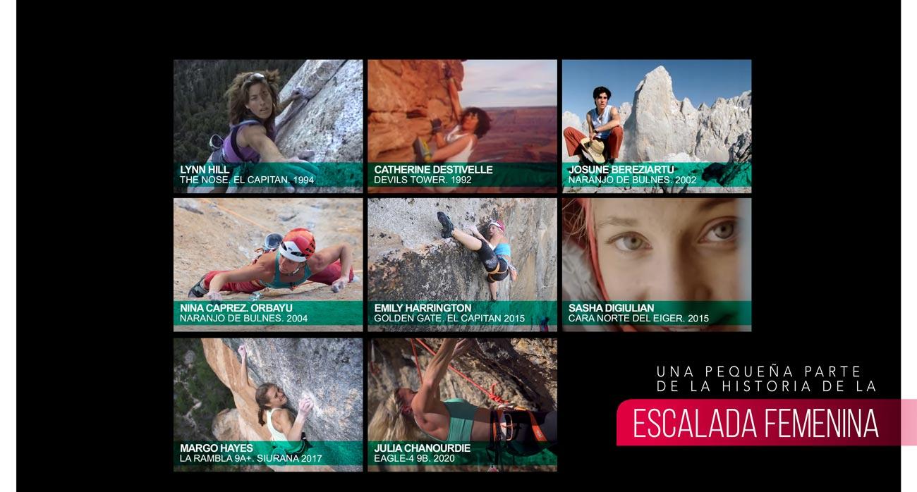 Pequeña historia de la escalada femenina