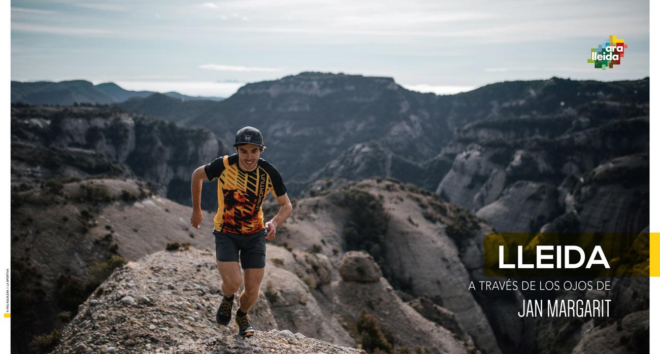 Lleida a través de los ojos de Jan Margarit. Trail running y turismo activo