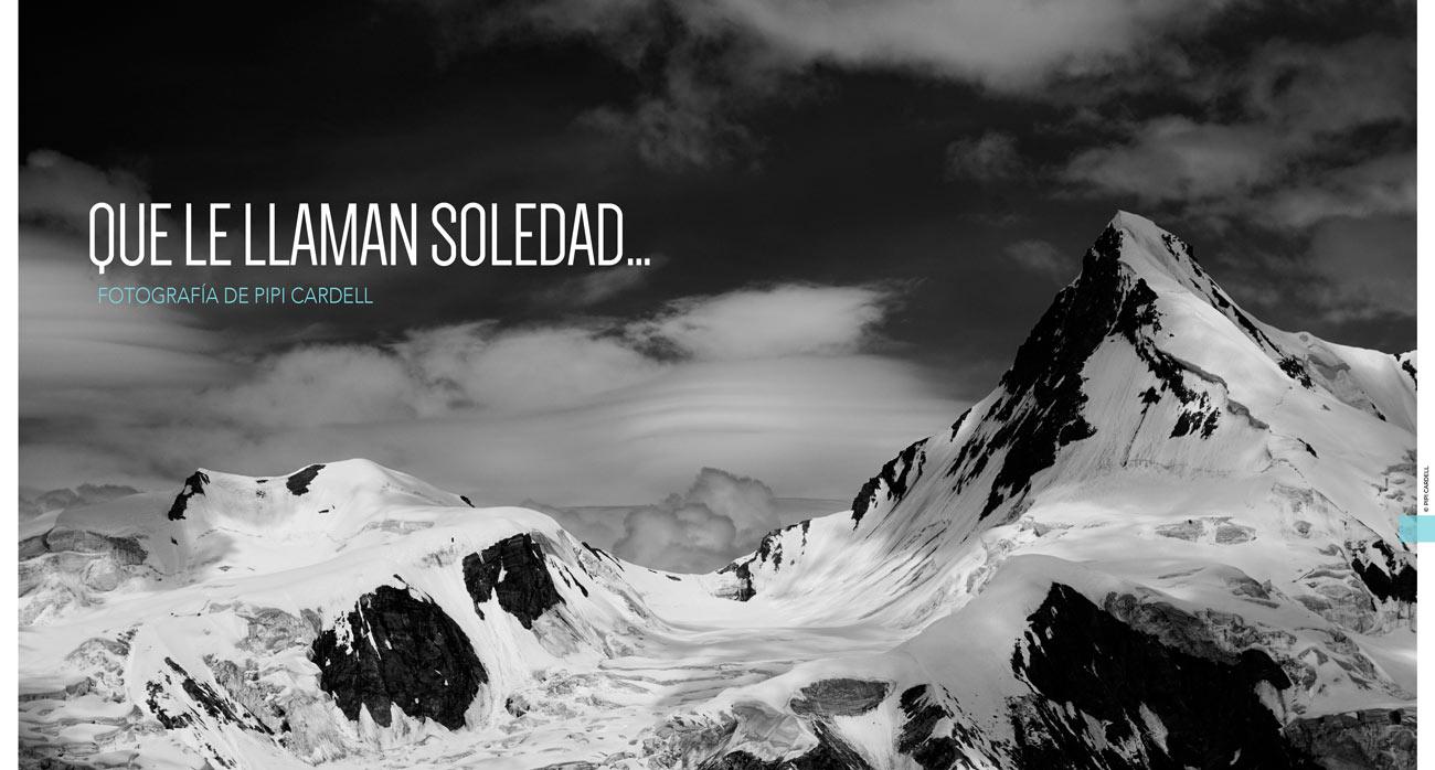 Soledad. Fotografía y alpinismo. Pipi Cardell