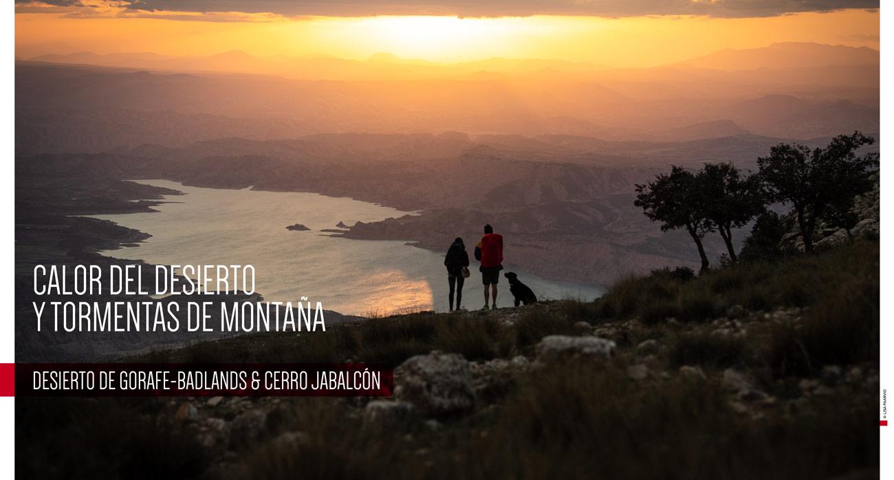 Viaje por el desierto de Gorafe y el Cerro Jabalcón compartiendo recetas y acampada con Kieran Creevy y Lisa Paarvio.