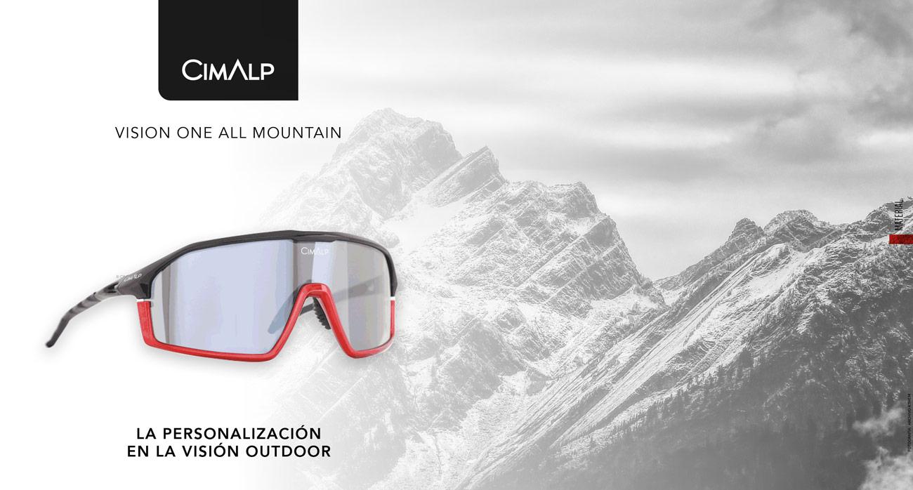 CIMALP VISION ONE ALL MOUNTAIN. Gafas de sol para trail running, senderismo, parapente, btt
