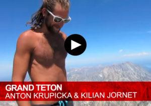 Grand-Teton. Anton Krupicka y Kilian Jornet