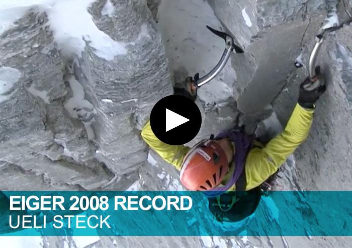 Eiger Record 2008 Uelil Steck