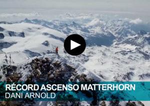 Dani Arnold Matterhorn. Récord