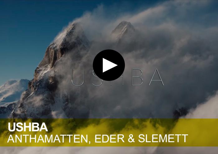 Ushba. Anthamatten, Eder & Slemett