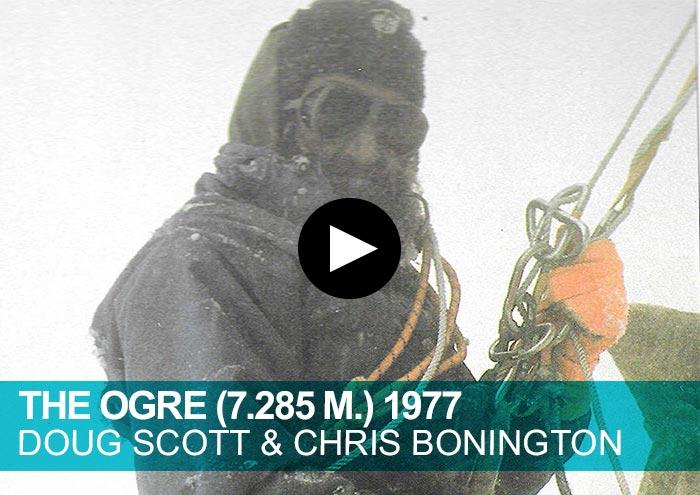 The Ogre. Dog Scott & Chris Bonnington 1977