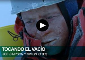 Tocando el vacío. Joe Simpson y Simon Yates. Siula Grande