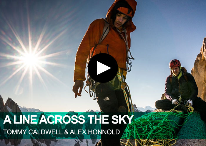 A Line Across The Sky. Tommy Caldwell y Alex Honnold
