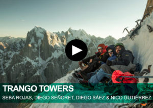 Trango Towers. Sebastián Rojas, Diego Señoret, Diego Sáez & Nicolás Gutiérrez