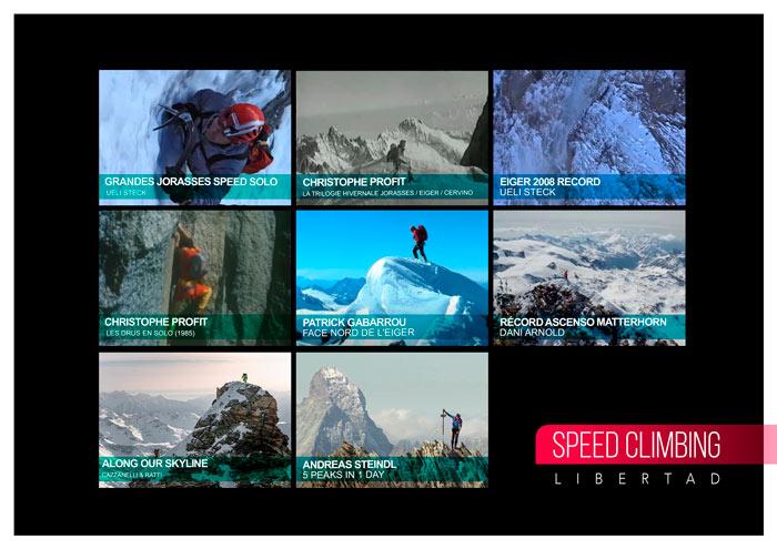 Speed climbing. Escalada de velocidad
