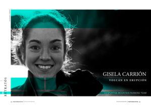 Gisela Carrión. Volcán en erupción