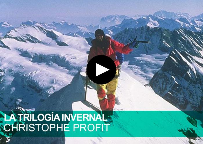 Christophe Profit Trilogía Invernal. Grandes Jorasses, Eiger, Matterhorn