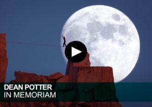 Dean Potter slackline moon