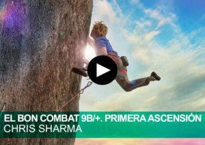 Primera ascensión a El Bon Combat 9b Chris Sharma