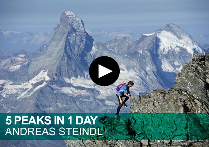 Andreas Steindl. 5 Peaks in 1 Day