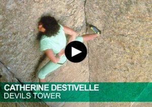 Catherine Destivelle. Devils Tower. Solo integral. Free solo