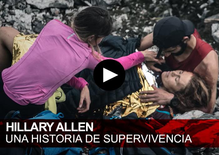 Hillary Allen. Su accidente y posterior rehabilitación en Tromsø Skyrace