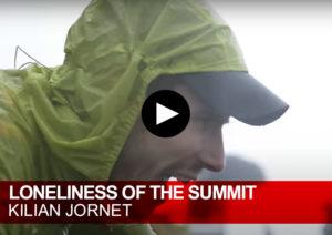 Loneliness of the summit. Kilian Jornet
