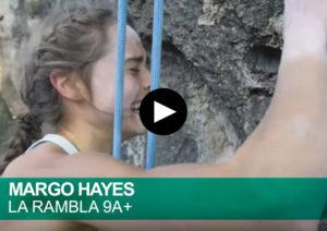 Margo Hayes. La Rambla 9a+