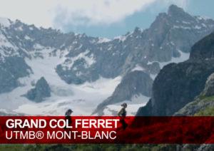 Grand-Col-Ferret. UTMB Mont Blanc