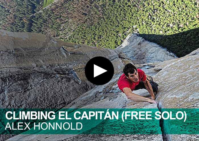 Climbing El Capitán (Free Solo). Alex Honnold