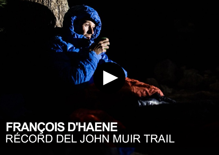 François D'Haene. Récord del John Muir Trail