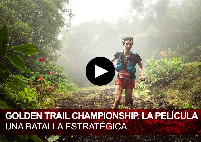 Golden Trail Championship 2020. La película. Maude Mathys