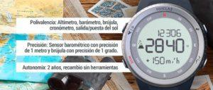 Reloj Decathlon Altímetro Barómetro de Montaña y Trekking con Brújula MW TREK 900   Kissthemountain
