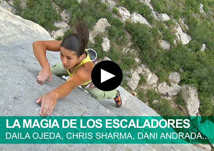 La magia de los escaladores.