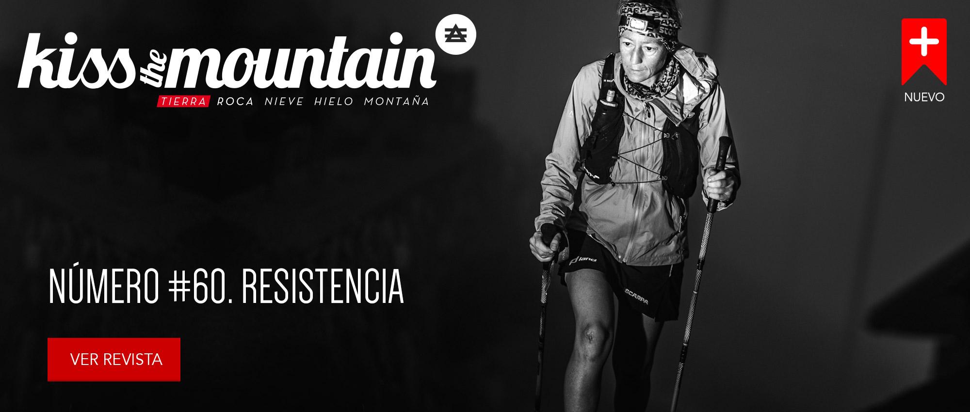 Kissthemountain_60_Resistencia. Portada Silvia Trigueros