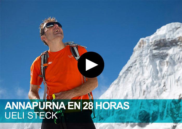 Ueli Steck. Annapurna en solitario en 28 horas