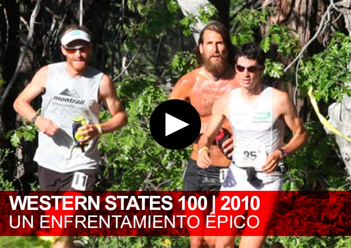 Western States 100. Un enfrentamiento épico Anton Krupicka, Kilian Jornet, Hal Koerner Y Geoff Roes